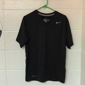 Black Nike Dri-Fit V-Neck